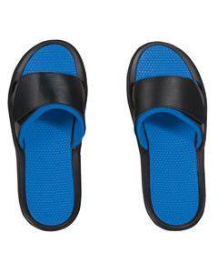 Dyenomite Athletic Slide Sandal SS300 Black/royal