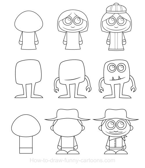 Animation Foundations: Drawing Cartoon Characters