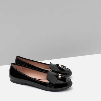 675912423b13e Image 5 of LOAFERS WITH TASSELS from Zara Chaussures Femmes, Appartements  Oxford, Des Espadrilles