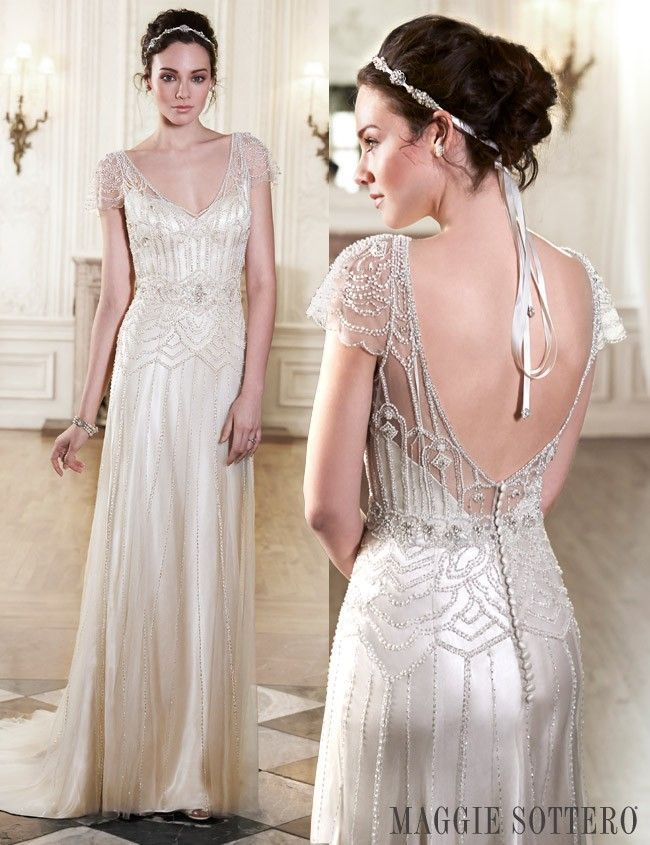 b9282de85c5 Great Gatsby Inspired Wedding Dresses To Fall In Love With