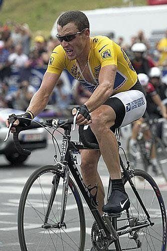Lance Armstrong Tour De Francia 2004 Alp D Huez Racing