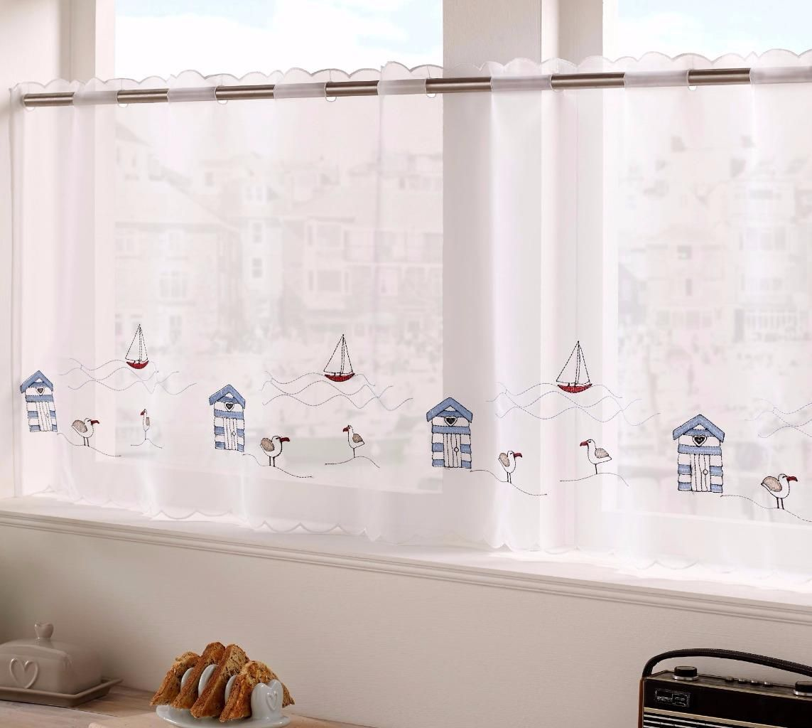 SEASIDE-VOILE-CAFE-NET-CURTAIN-PANEL-Available-In-18-034-amp-24-034 ...