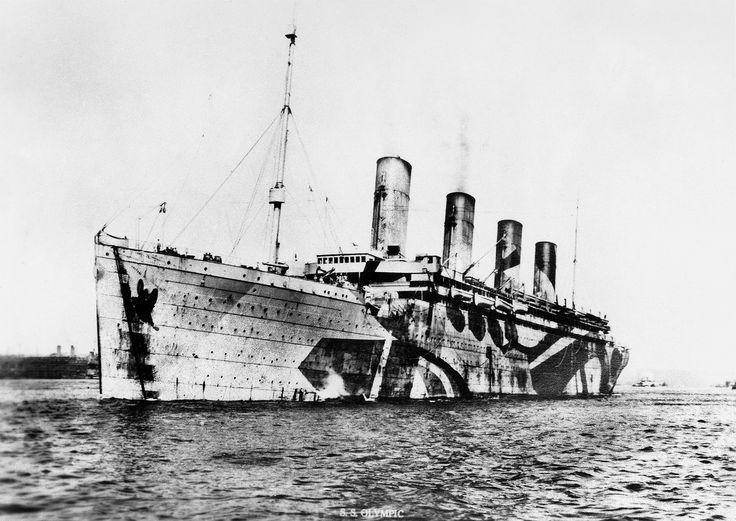 Rammed Amp Sunk A U Boat Titanics Sister Ship Rms Olympic