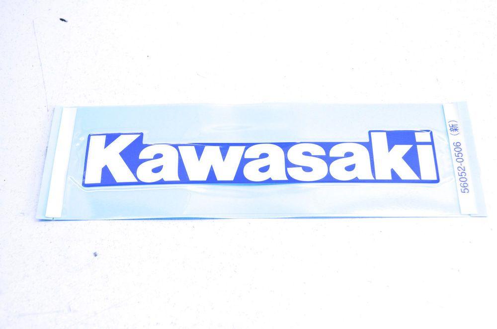 New Oem Kawasaki Fuel Tank Cover Decal 56052 0506 Nos Ebay Motors Parts Amp Accessories Motorcycle Parts Kawasaki Kawasaki Motorcycles Motorcycle Decals