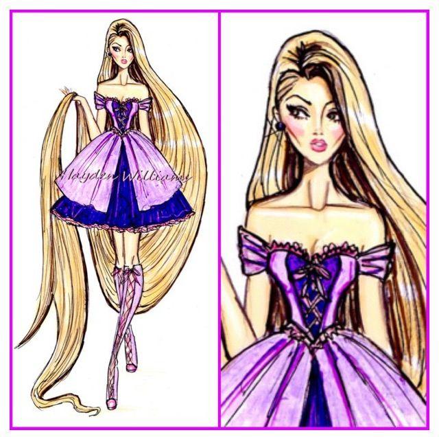 Hayden William's - Disney Divas - Rapunzel