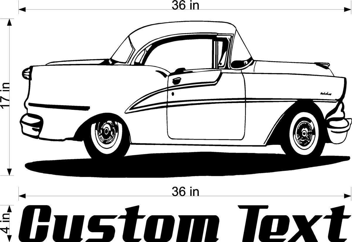 Ford Popular Custom Car Sticker Wall Art Boys Bedroom Garage