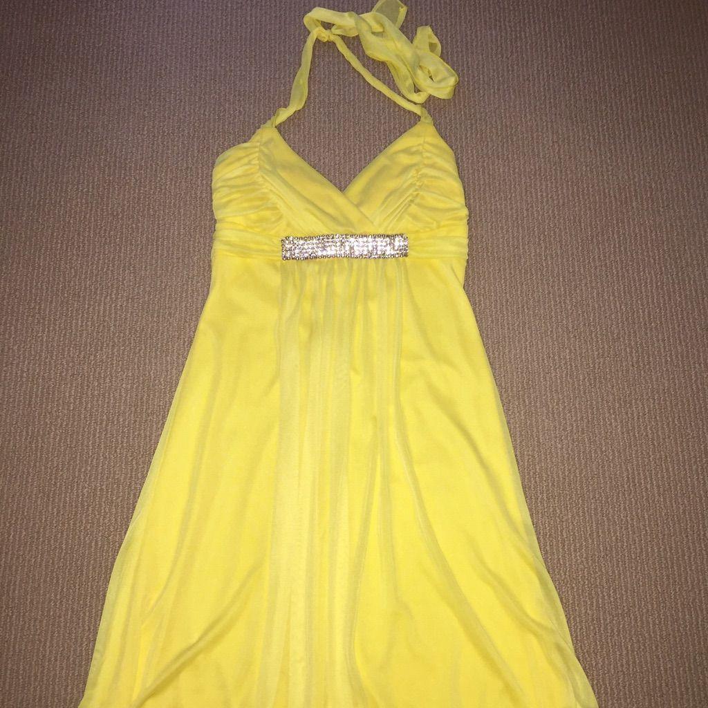 Yellow chiffon dress products