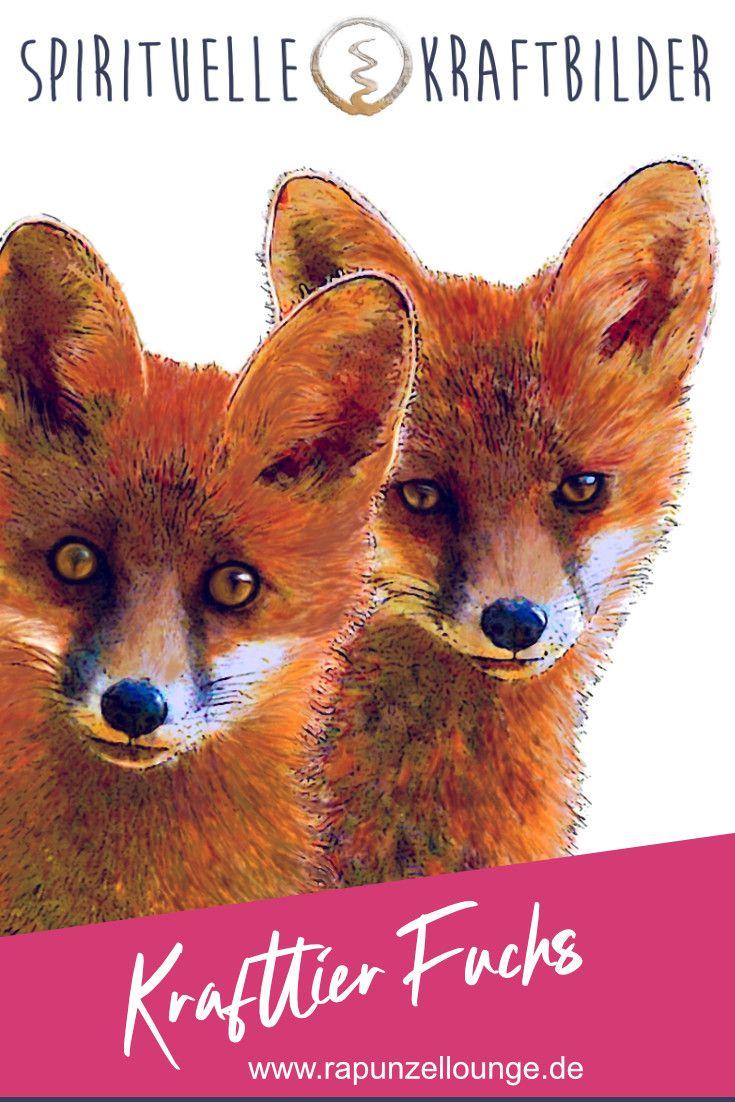 Krafttier Fuchs in 2020 | Krafttier fuchs, Krafttier, Fuchs
