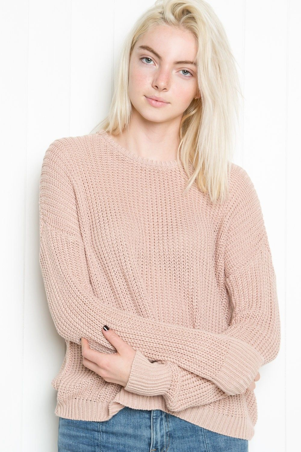 Brandy ♥ Melville | Lance Sweater - Clothing | New Arrivals ...