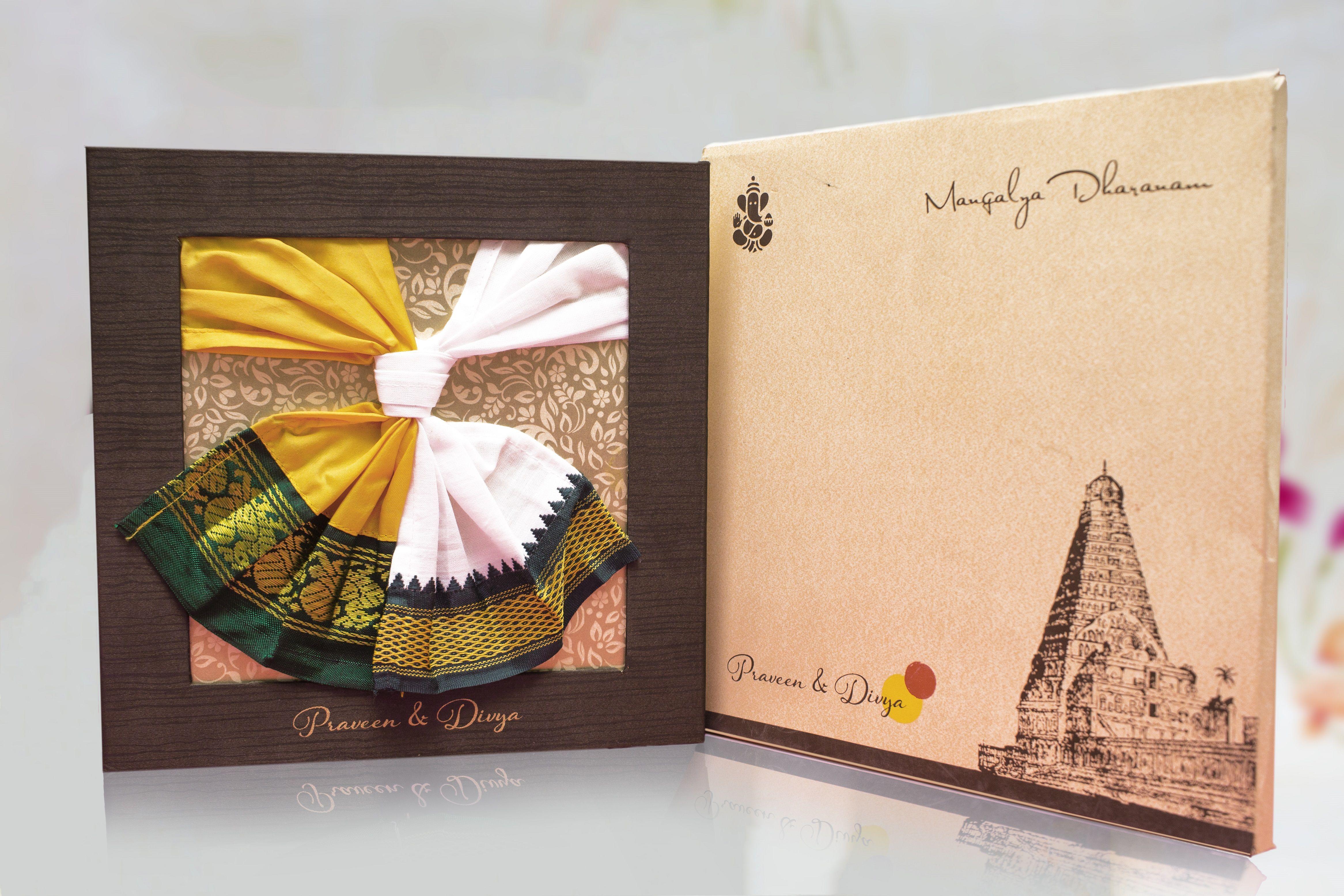 Indian Creative Hindu Wedding Invitation Which Brings The