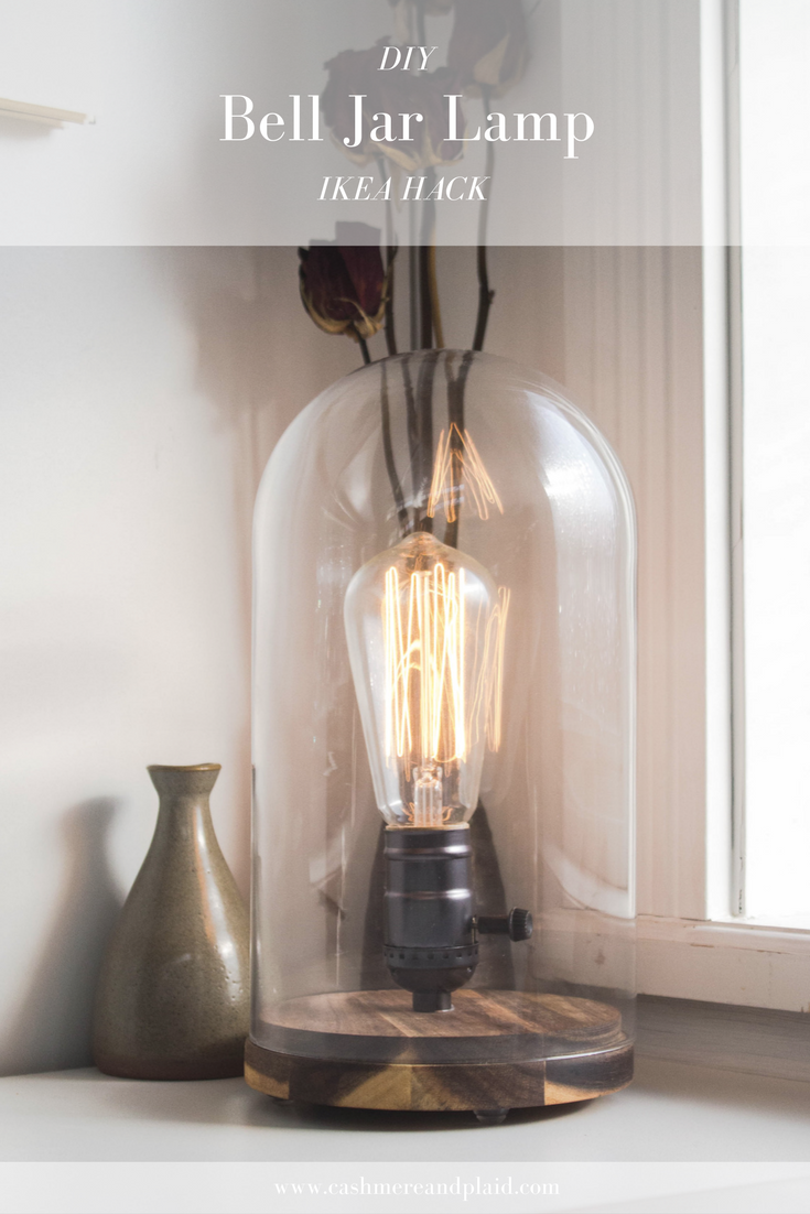 DIY Old Faithful Inspired IKEA Hack Lamp
