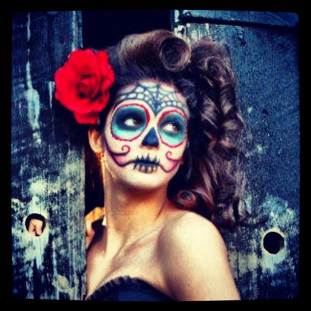Sugar skull photo shoot!