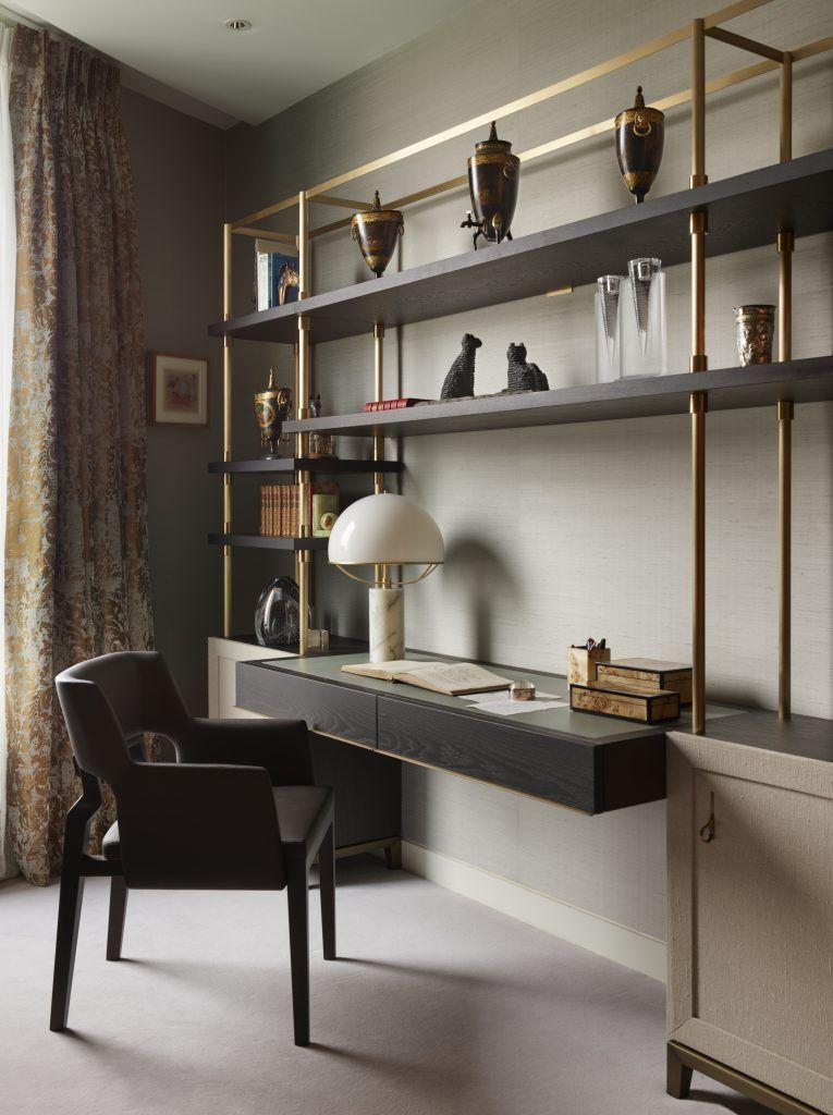 Room Lighting Design Software: Modern Desk Arrangement By Fiona Barratt Interiors. Find