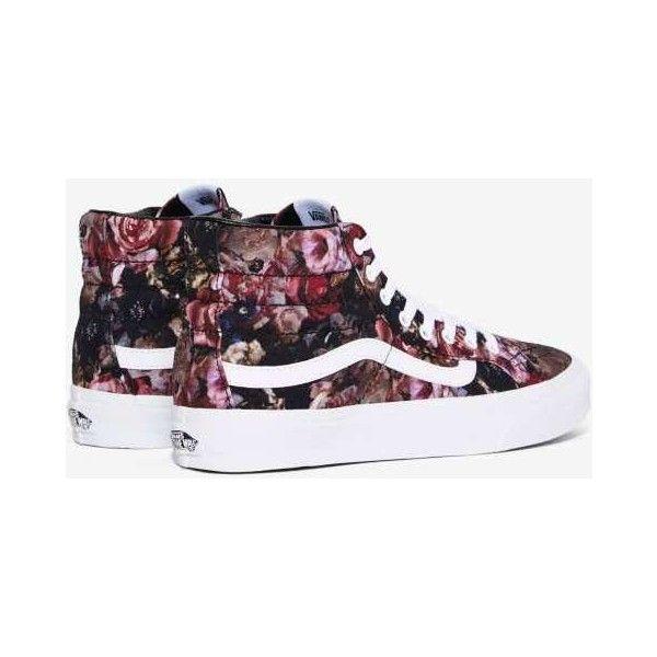 floral high top vans - sochim.com