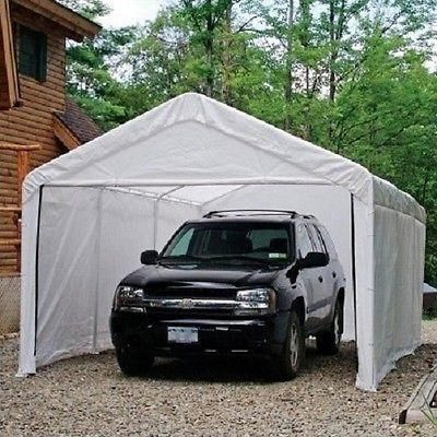 Canopy 10x20 Sidewall And Door Kit Add A Door And Sidewalls To Your 10 X 20 Canopy Included In This Tent Carport Shelte Canopy Outdoor Car Canopy White Canopy