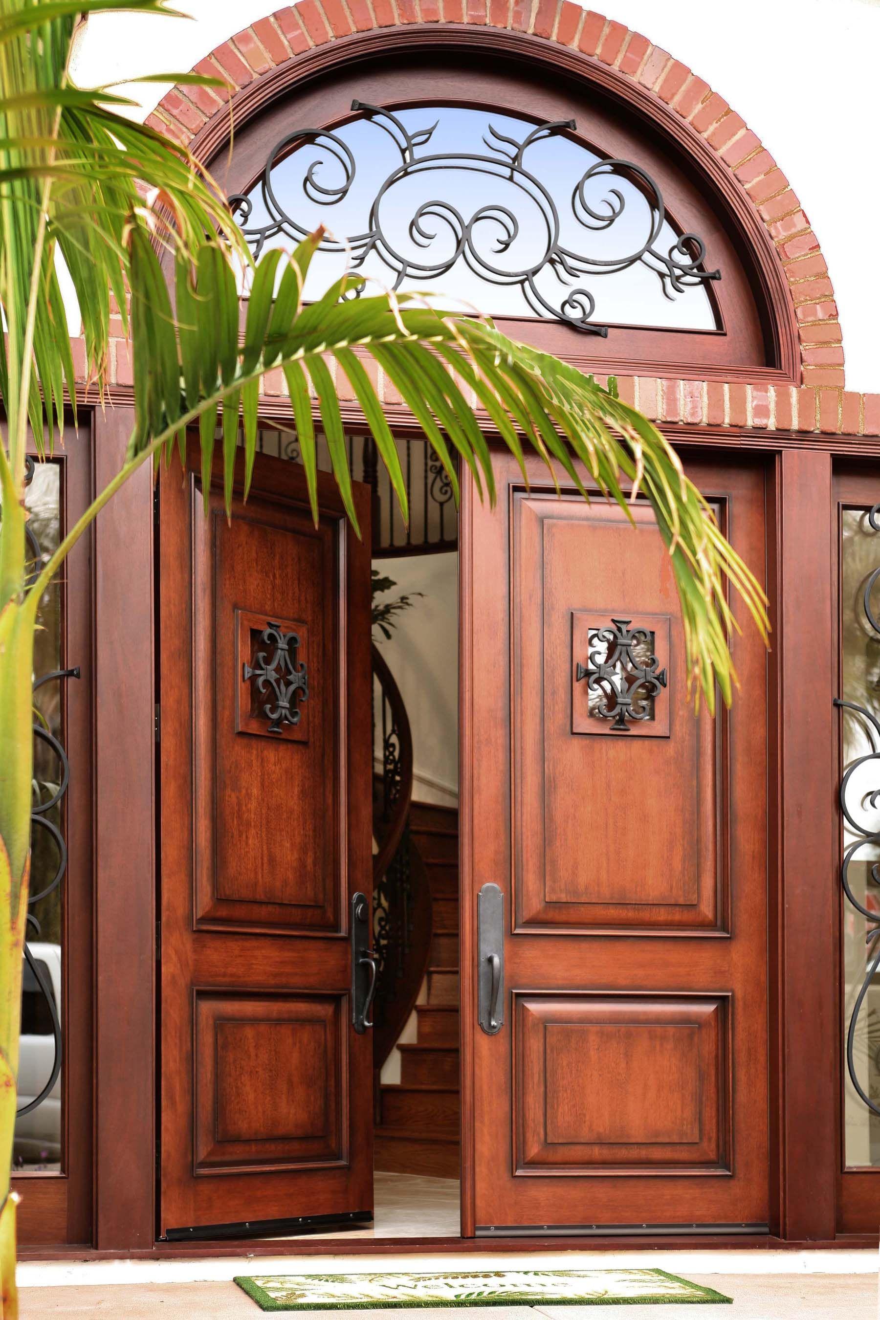 Elegant Custom Fiberglass Entry Door