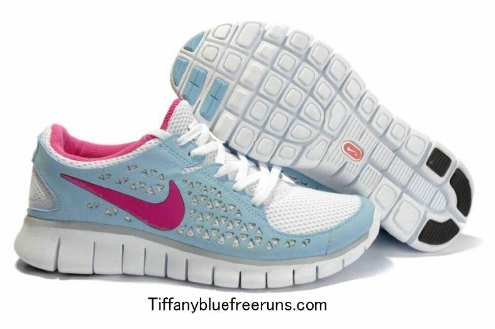 free shipping 79286 f4092 Cheap Nike Free Run Light Blue Rose Carmine