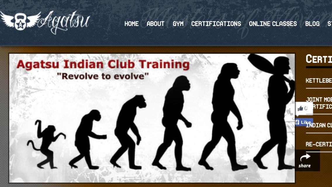 Revolve To Evolve Multi Plane Training With Agatsu Indian Club
