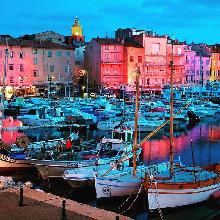 """St Tropez is always a good idea. Right?!;)"" #sttropez #goodidea #misstunicaworld"