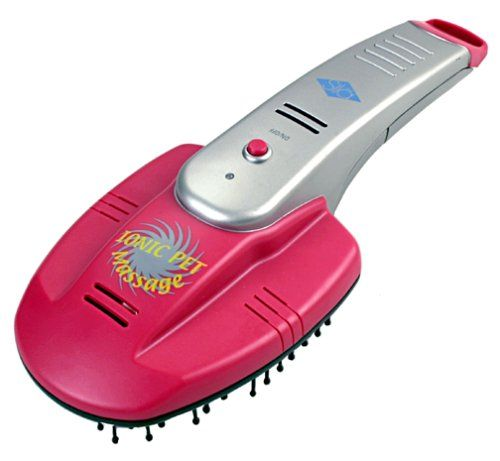 $43.88-$49.99 The Lentek® Waterless Pet Massage Brush allows you to groom and massage your pet from the comfort of your home with almost no effort at all. The brush soundlessly circulates 100 trillion air-cleansing ions per second through the animal's fur to remove even the nastiest odors. You can reduce pet dander and shedding, and those nasty pet odors at the same time. A gentle massage action  ...