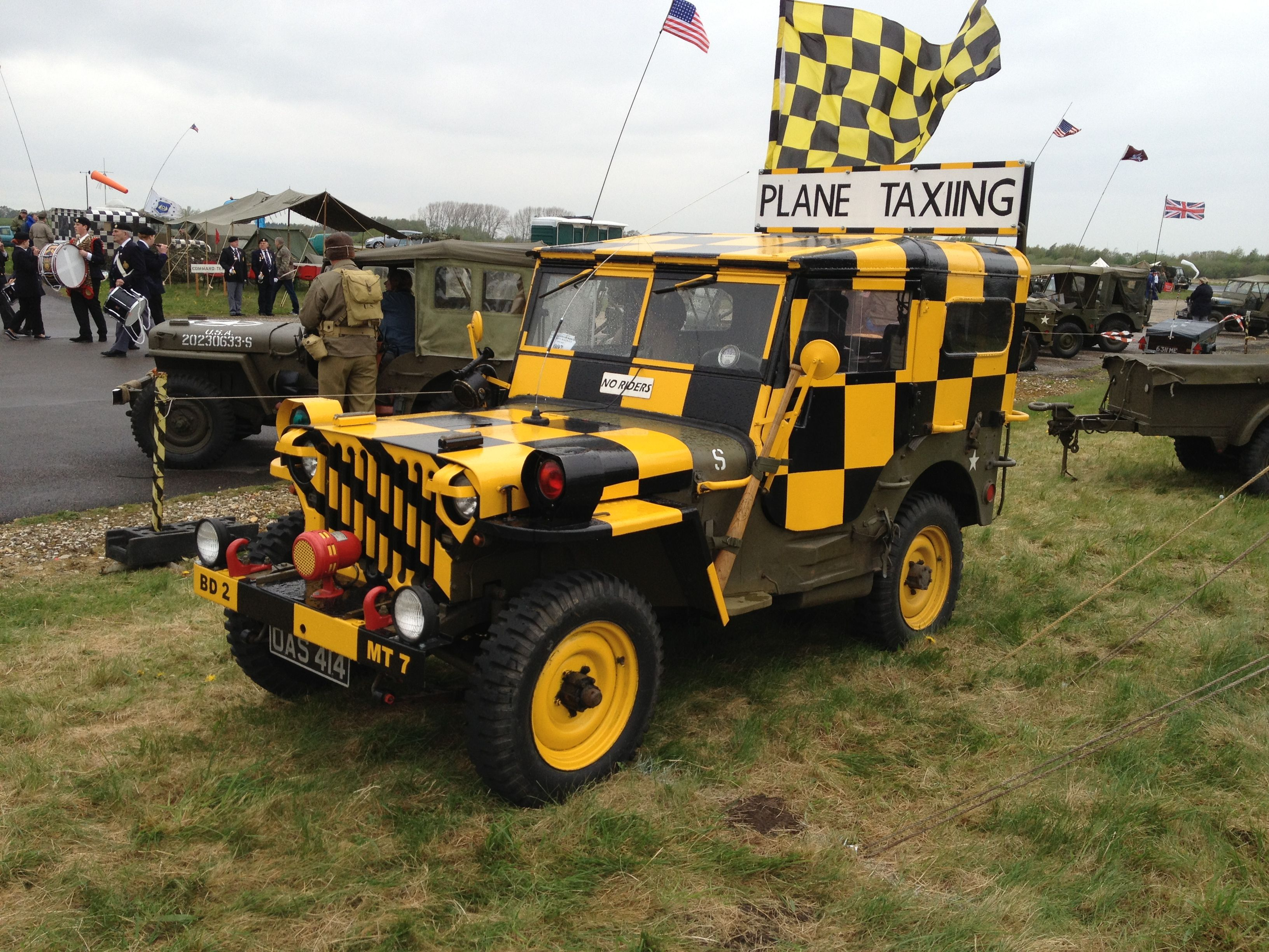 Follow Me Airport Jeep At Yorkshire Air Museum Jeep Monster Trucks Wwii