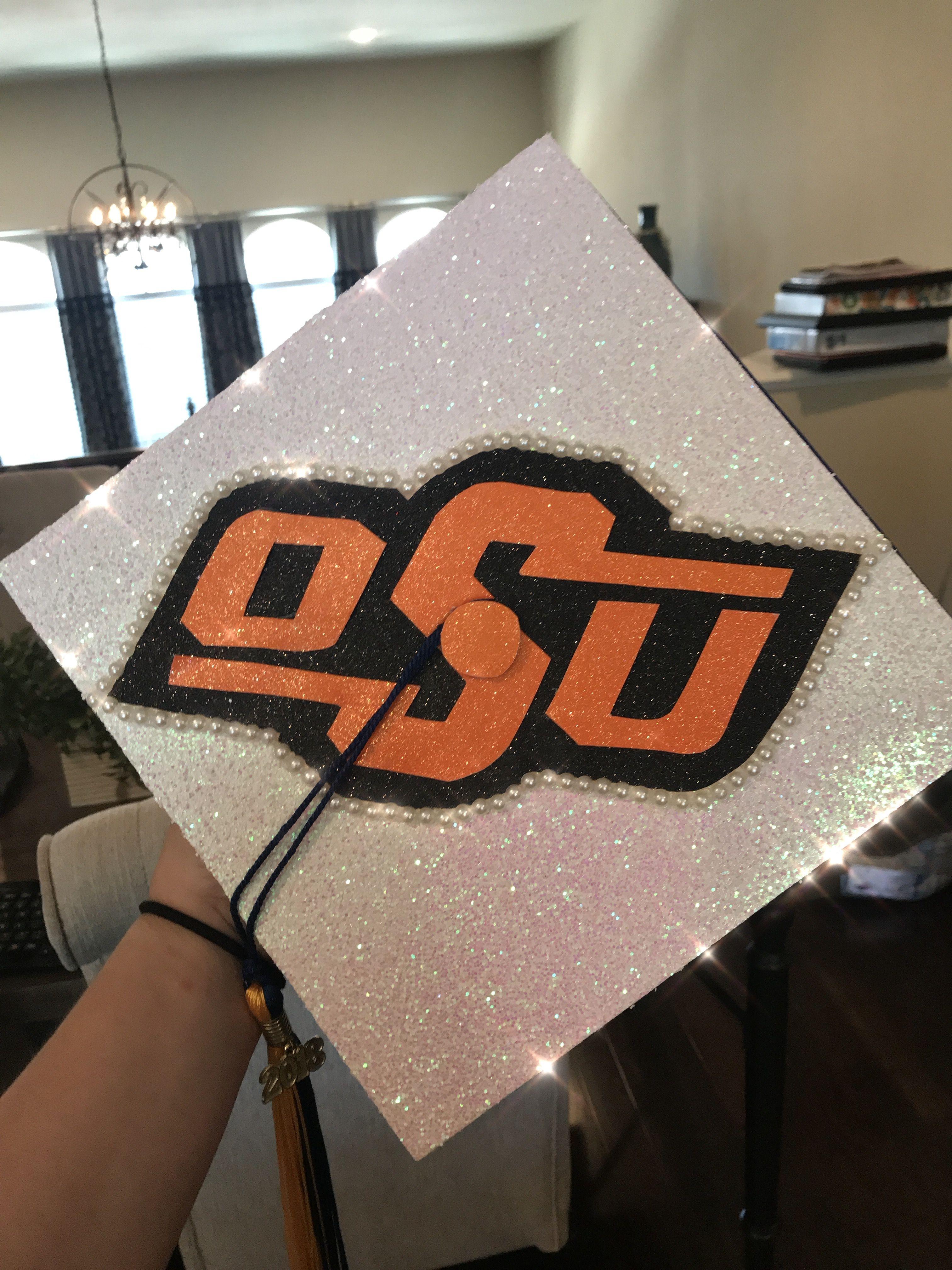Oklahoma State University Graduation Cap Graduation Cap Decoration Oklahoma State University University Graduation
