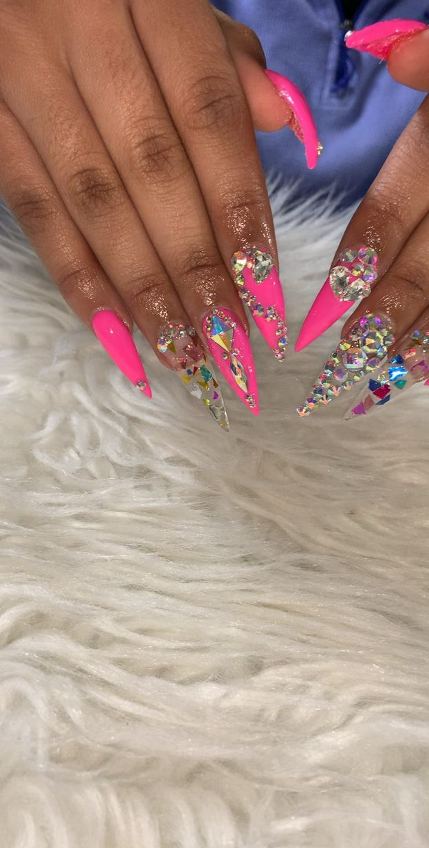 ideas for nails ! pink and pretty !! | n a i l s in 2019 ...