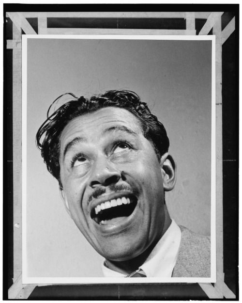 Scat singer and bandleader Cab Calloway, NYC 1947. Photo William Gottlieb [[MORE]]