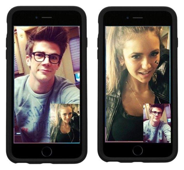 Facetime Nina Dobrev And Grant Gustin