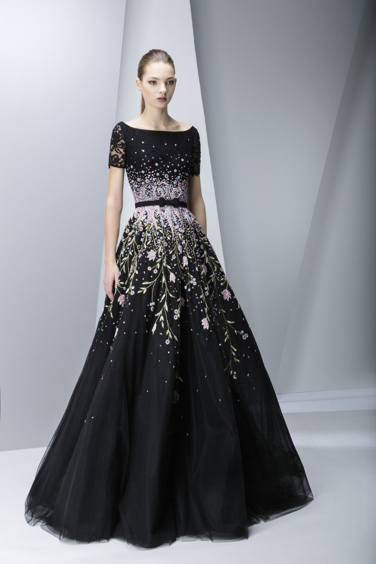 Georges Hobeika | Ready-to-Wear Fall-Winter 15-16 | Look 17 ...