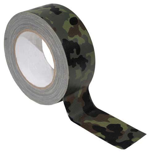 """Camouflerad """"silvertejp"""" , BW-band/tejp bepansrad väv tejp exakt samma som den ursprungliga silvertejpen men anpassad till de väpnade styrkorna för att kamouflera sin utrustning."""