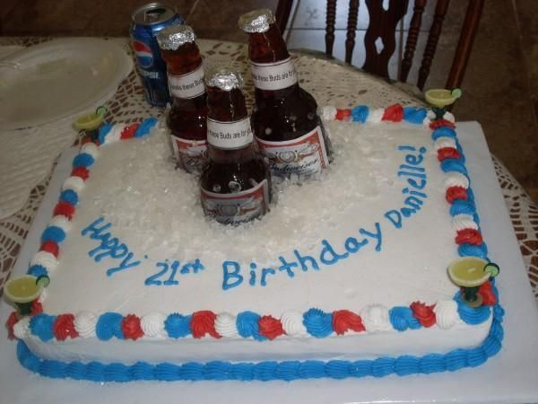 Strange Homemade 21St Birthday Cakes With Images 21St Birthday Cakes Funny Birthday Cards Online Alyptdamsfinfo