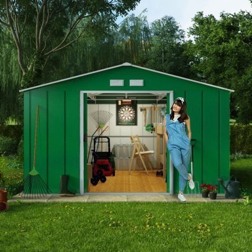 8x10 Metal Shed >> 8x10 Billyoh Metal Shed Outdoor Storage Unit Base Option