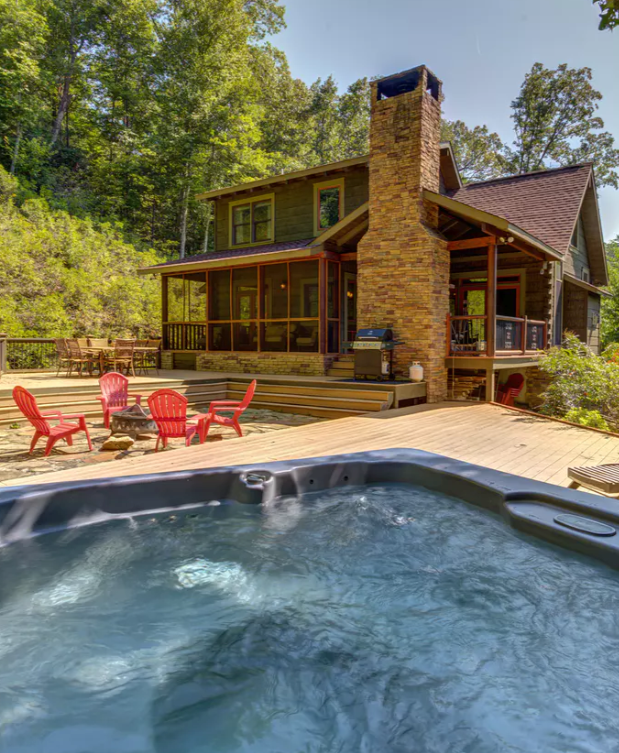 DogFriendly Cabin Rental in Blue Ridge Mountains