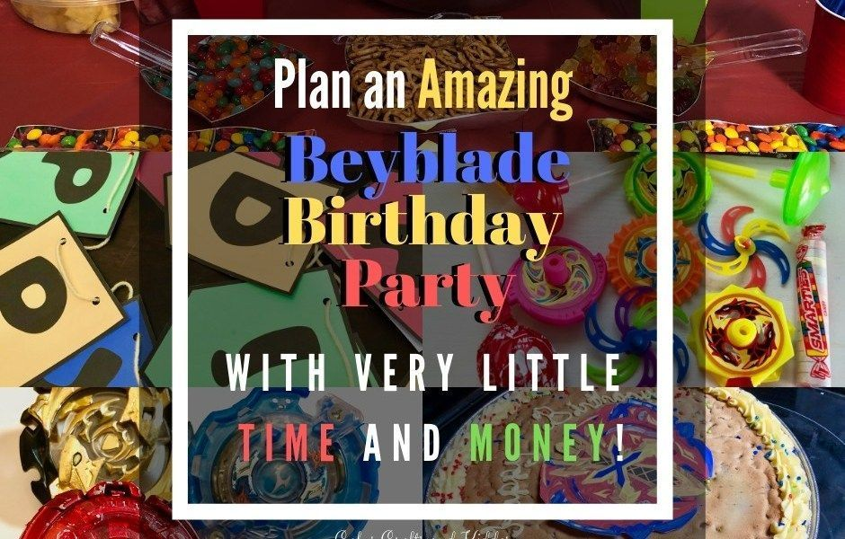 Photo of Beyblade Birthday Party Celebration! – Cakes, Crafts, And Kiddos –  Beyblade Bir…