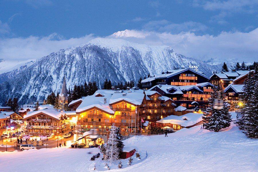 Courchevel 1850 : Courchevel 1650 Ski Resort In The French