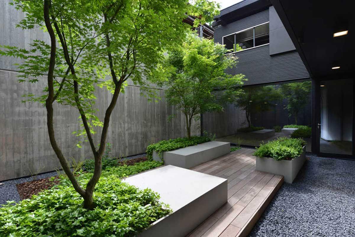 Giardini Moderni E Contemporanei : Bscape studio di architettura del paesaggio giardino privato