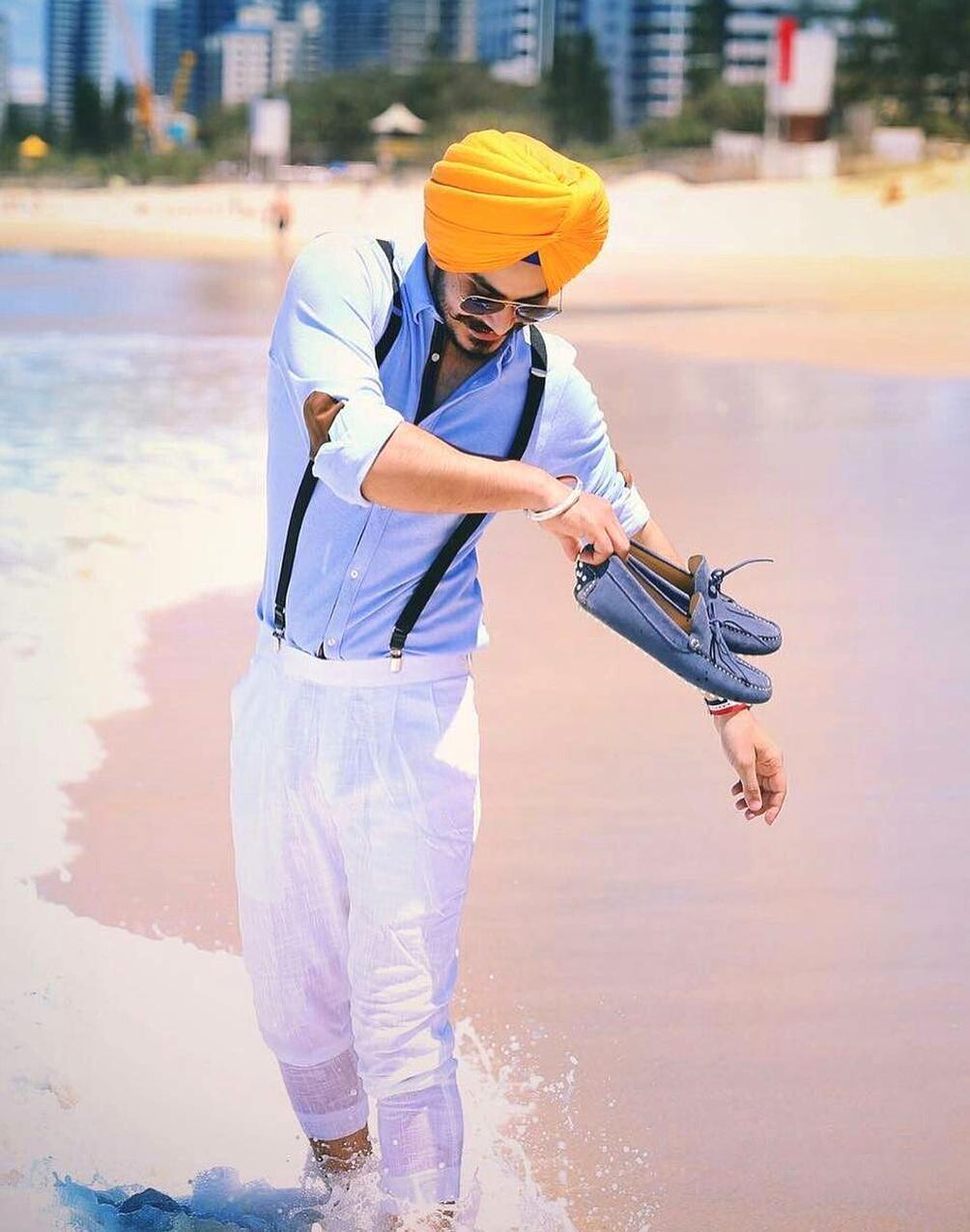 Nav jivan in 2020 Punjabi boys, Turban style, Carhartt