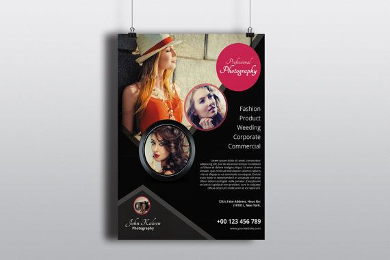 Photography Flyer Promotional Flyer Designpf-009 By Templatestock