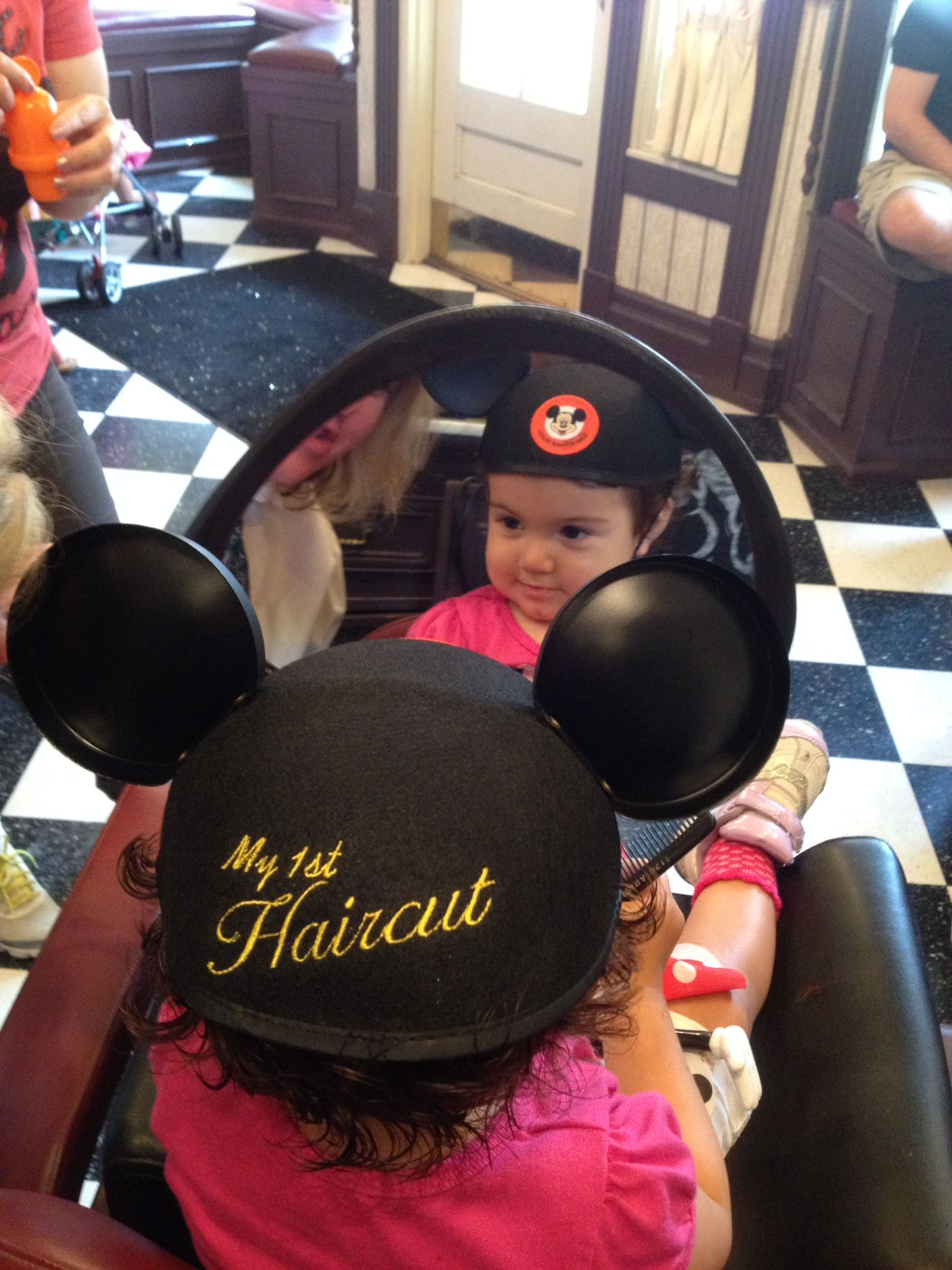 My Babys First Haircut A Great Experience In The Magic Kingdom