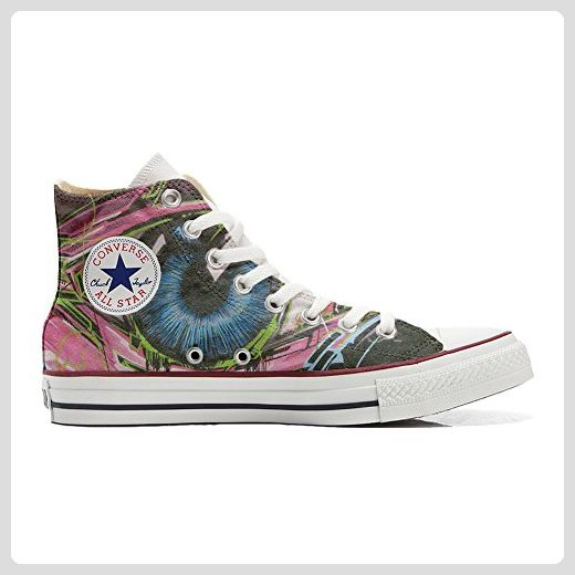 Converse All Star Hi Customized personalisierte Schuhe (Handwerk Schuhe) Straszlig;e Style