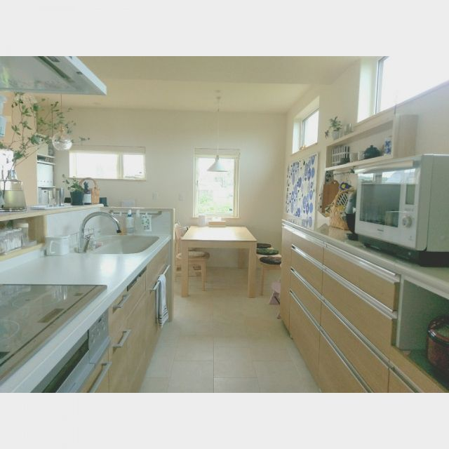 Kitchen Impossible 31 07: Kitchen/ダイニング/北欧/タペストリー/Myhome/新築一戸建て…などのインテリア実例 -2016-07