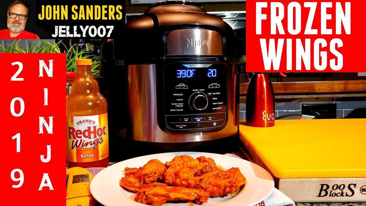 How to cook chicken wings from frozen ninja foodi deluxe