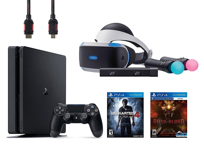 PlayStation VR Start Bundle 5 Items: VR Start Bundle,PS 4