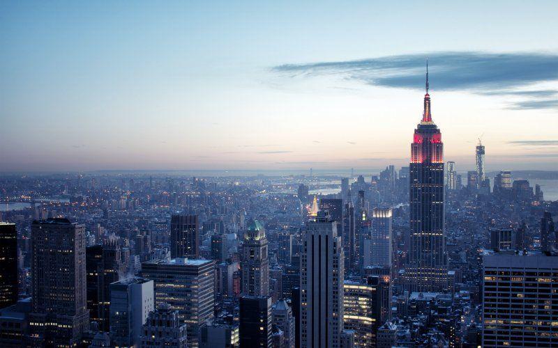 Empire State Building Cityscape New York Wallpaper New York Wallpaper York Wallpaper City Wallpaper
