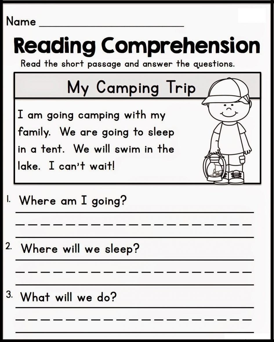 Writing Worksheet Kindergarten Inspirationa Collection Of Prescho…    Kindergarten reading worksheets [ 1181 x 945 Pixel ]
