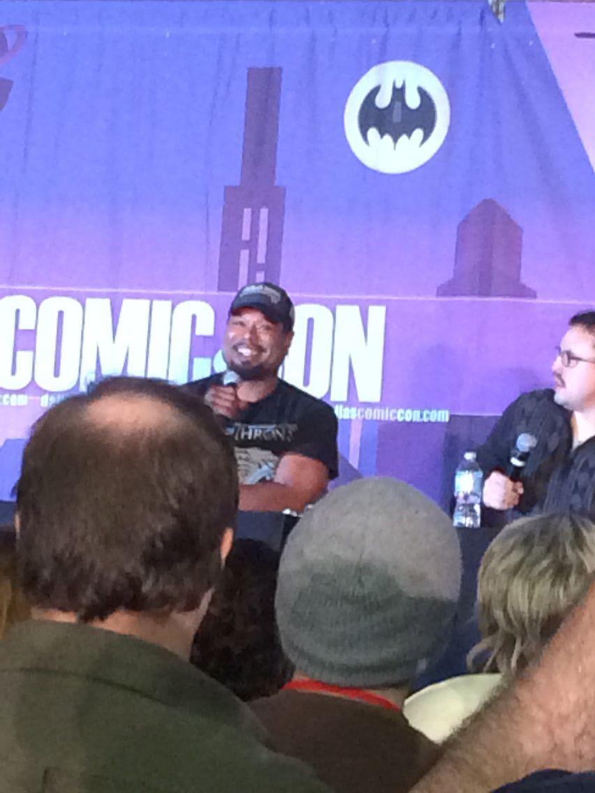 Christopher Judge at Dallas Comic Con 2015