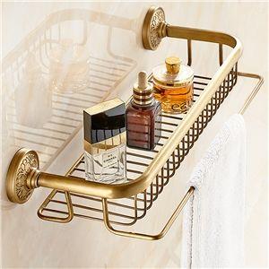 Eu Lager Handtuchhalter Antik Messing Duschkorb Wand Badezimmer Badezimmer Regal Handtuchhalter Ideen Badezimmerideen