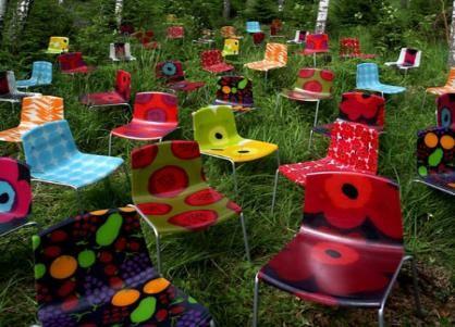 Crea tus propias sillas y mesas retro