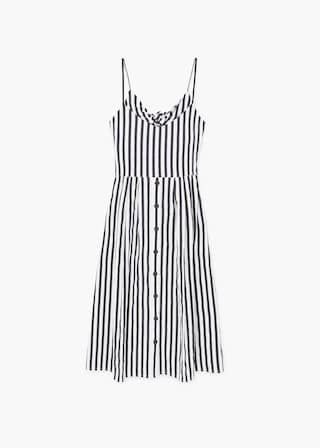 c90785c6d193 Striped cotton dress. Striped cotton dress Fashion 2017